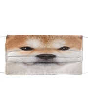 Love Shiba Inu Cloth face mask front