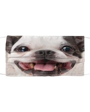 Love Terrier Cloth face mask front