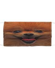 Love Pomeranian Cloth face mask front