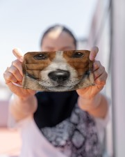 Love Jack Russell Cloth face mask aos-face-mask-lifestyle-07