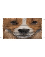 Love Jack Russell Cloth face mask front