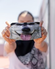 Love Siberian Husky Cloth face mask aos-face-mask-lifestyle-07
