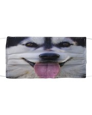 Love Siberian Husky Cloth face mask front