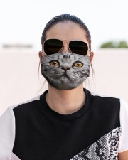 Funy Face Cat Cloth face mask aos-face-mask-lifestyle-02