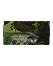 Love Bass Fishing Cloth face mask front