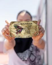 November Girl Cloth face mask aos-face-mask-lifestyle-07