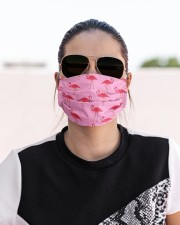 Love Flamingo Cloth face mask aos-face-mask-lifestyle-02