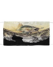 Love Fishing Cloth face mask front