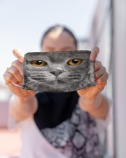 Love British Shorthair Cloth face mask aos-face-mask-lifestyle-07