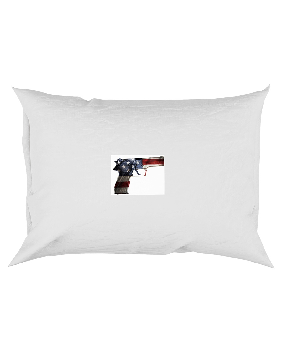 The Comfort PILLOW Gun  America  Rectangular Pillowcase