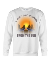 I get my power from the sun Crewneck Sweatshirt thumbnail