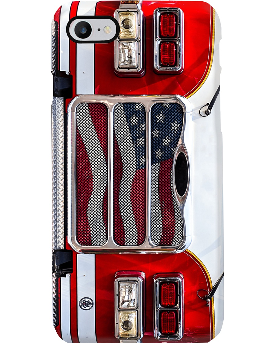 Phone Case Firefighter Truck Phone Case