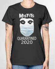Misfits quarantined 2020 Ladies T-Shirt garment-tshirt-ladies-front-01