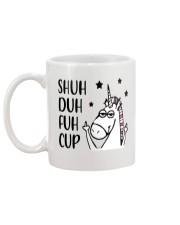 Shuh duh fuh cup - Unicorn Mug back