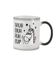 Shuh duh fuh cup - Unicorn Color Changing Mug thumbnail