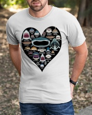 Shark Heart Classic T-Shirt apparel-classic-tshirt-lifestyle-front-52