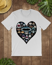 Shark Heart Classic T-Shirt lifestyle-mens-crewneck-front-18