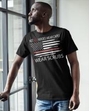 tutu-I wear scrubs 2 Classic T-Shirt apparel-classic-tshirt-lifestyle-front-38