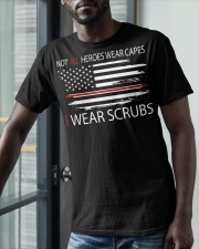 tutu-I wear scrubs 2 Classic T-Shirt apparel-classic-tshirt-lifestyle-front-39