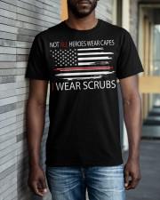 tutu-I wear scrubs 2 Classic T-Shirt apparel-classic-tshirt-lifestyle-front-40