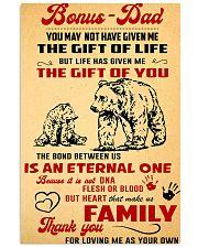 Poster - Bonus dad 16x24 Poster front