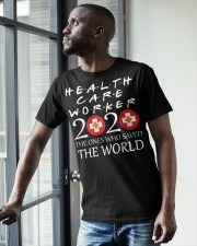 healcare worker 2020 Classic T-Shirt apparel-classic-tshirt-lifestyle-front-38