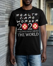 healcare worker 2020 Classic T-Shirt apparel-classic-tshirt-lifestyle-front-40