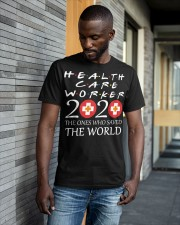 healcare worker 2020 Classic T-Shirt apparel-classic-tshirt-lifestyle-front-41-b
