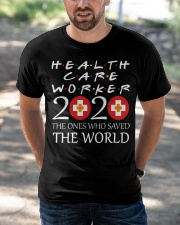 healcare worker 2020 Classic T-Shirt apparel-classic-tshirt-lifestyle-front-50