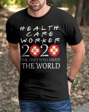 healcare worker 2020 Classic T-Shirt apparel-classic-tshirt-lifestyle-front-52