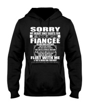 Perfect gift for fiancé - october Hooded Sweatshirt front