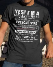 spoiled husband den Classic T-Shirt apparel-classic-tshirt-lifestyle-28