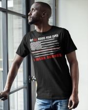 I wear scrubs Classic T-Shirt apparel-classic-tshirt-lifestyle-front-38