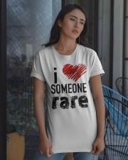 i love someone rare Classic T-Shirt apparel-classic-tshirt-lifestyle-08