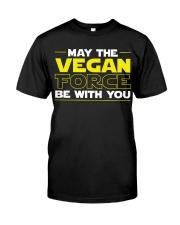 Vegan Force Classic T-Shirt front