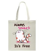 Always Smile Tote Bag thumbnail