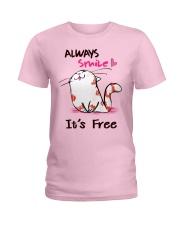Always Smile Ladies T-Shirt thumbnail