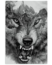 Wolf - limited edition 11x17 Poster front