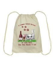 Love cats Drawstring Bag thumbnail