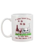 Love cats Mug back
