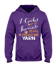 Crocheting Knitting Lovely Tshirt for Crocheter Hooded Sweatshirt front