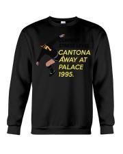 Current stress level cantona away at palace 1995 Crewneck Sweatshirt thumbnail