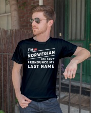 I'm norwegian you can't pronounce my last name Premium Fit Mens Tee lifestyle-mens-crewneck-front-2