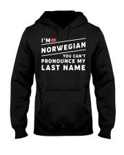 I'm norwegian you can't pronounce my last name Hooded Sweatshirt thumbnail
