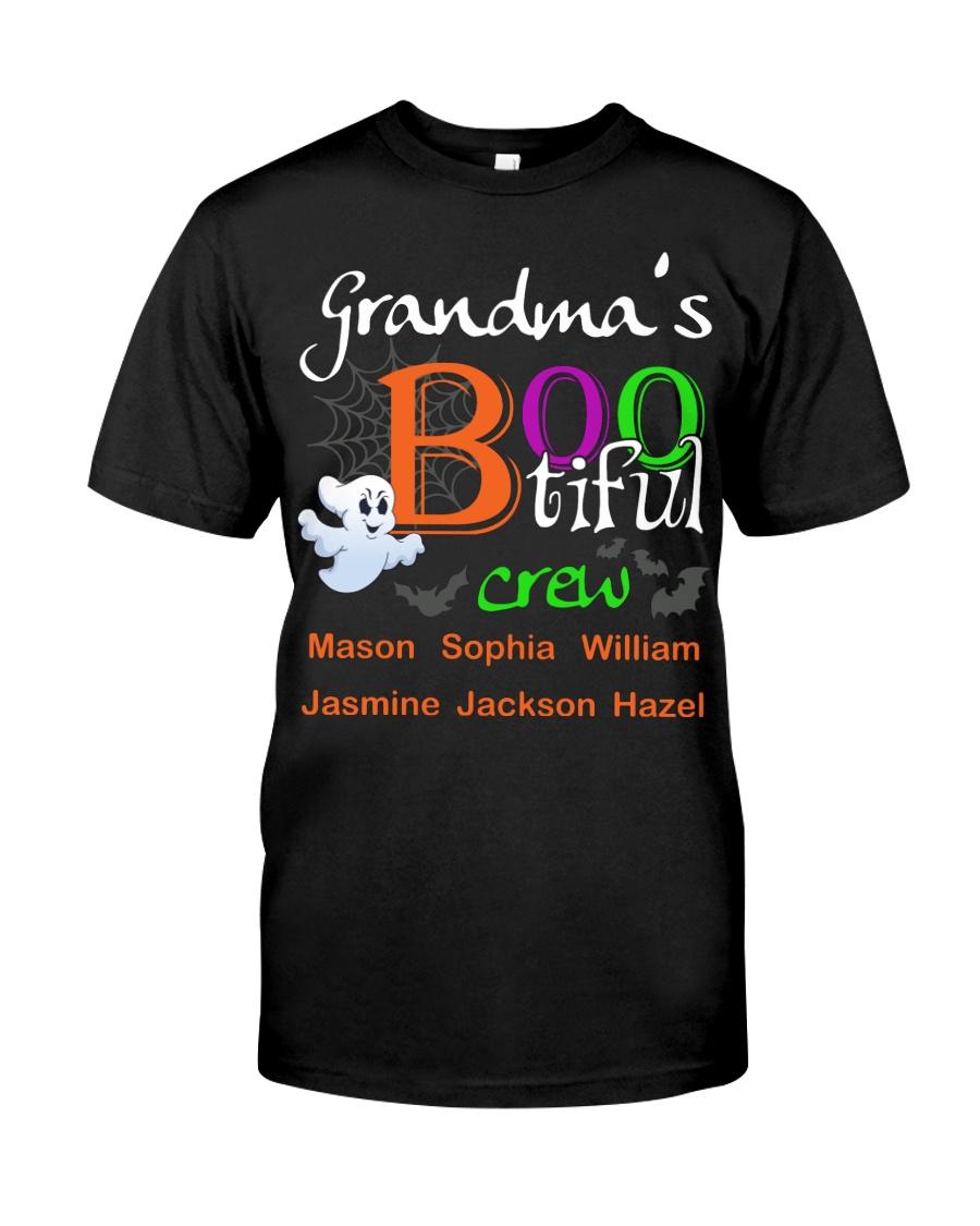 Grandma's bootiful crew mason Sophia William Mason Classic T-Shirt