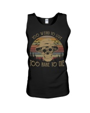 Too weird to live too rare to die vintage  Unisex Tank thumbnail