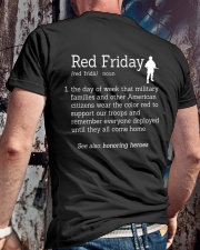 veteran red friday definition Premium Fit Mens Tee lifestyle-mens-crewneck-back-2