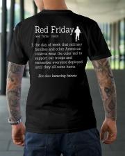 veteran red friday definition Premium Fit Mens Tee lifestyle-mens-crewneck-back-3