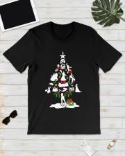 Christmas tree  Premium Fit Mens Tee lifestyle-mens-crewneck-front-17
