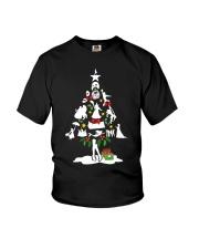 Christmas tree  Youth T-Shirt thumbnail